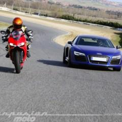 Foto 21 de 24 de la galería ducati-899-panigale-vs-audi-r8-v10-plus en Motorpasion Moto