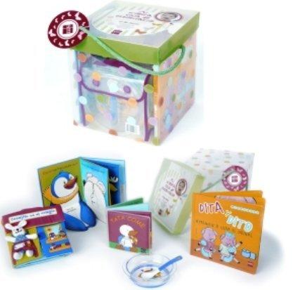 Cajas-regalo con libros para bebés