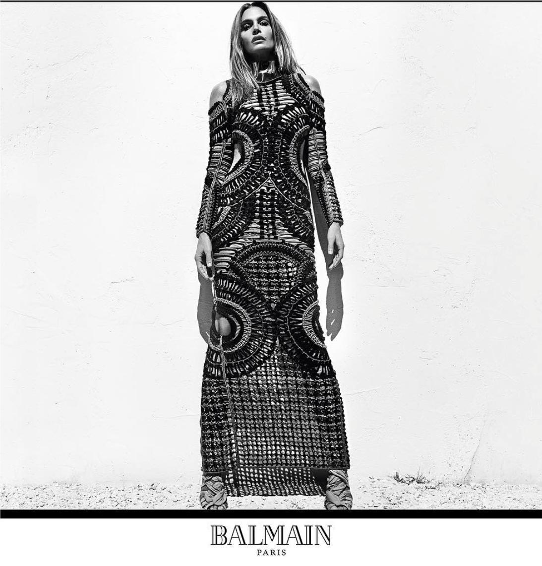 Foto de Naomi Campbell, Cindy Crawford y Claudio Schiffer para Balmain (7/9)