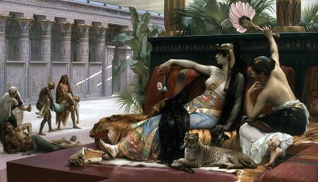 """""""Cleopatra ensaya venenos en condenados a muerte"""", por Alexandre Cabanel."""