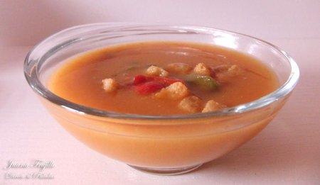 Receta de sopa campera