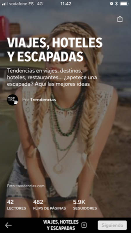 Revista Trendencias Flipboard 3