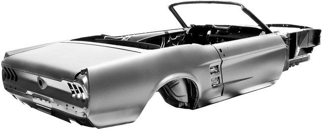 Chasis - 1967 Ford Mustang Convertible