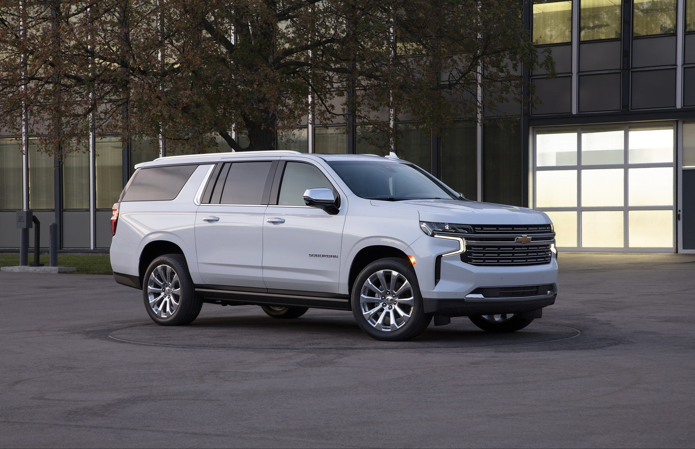 2021 Chevy Suburban Z71 Images
