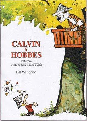 Calvin y Hobbes no pueden parar de jugar juntos