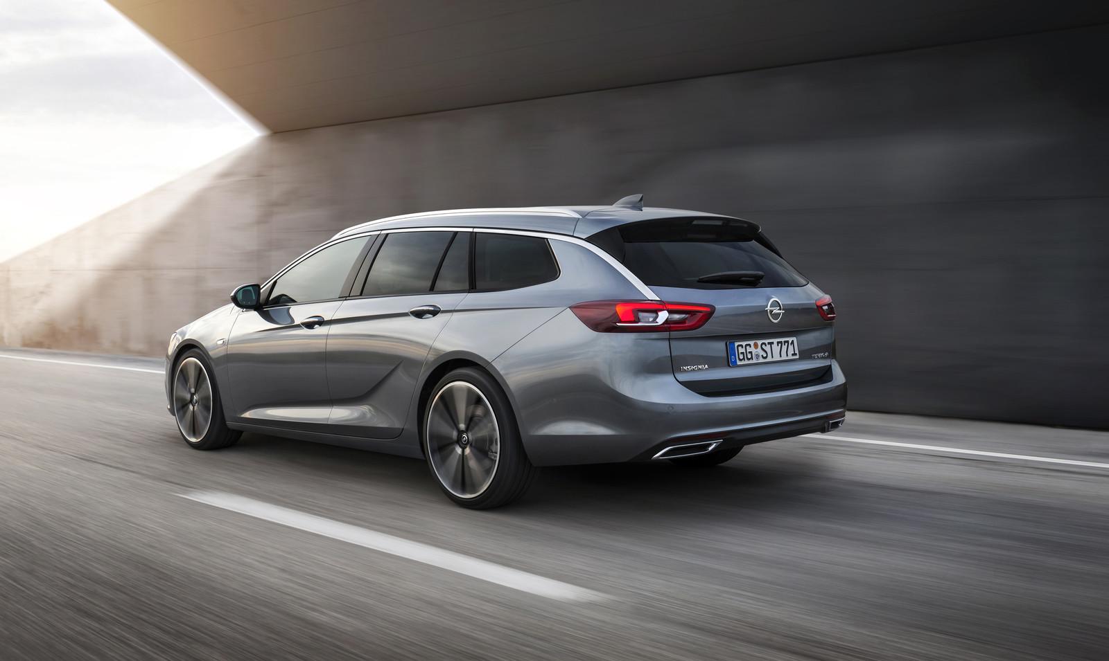 Foto de Opel Insignia Sports Tourer 2017 (4/14)