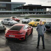 Walter Röhrl, siete Porsche 911 Turbo y una carrera de aceleración: más de 3.000 CV de legado deportivo
