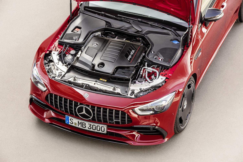 Foto de Mercedes-AMG GT 43 Coupé 4 puertas (7/18)