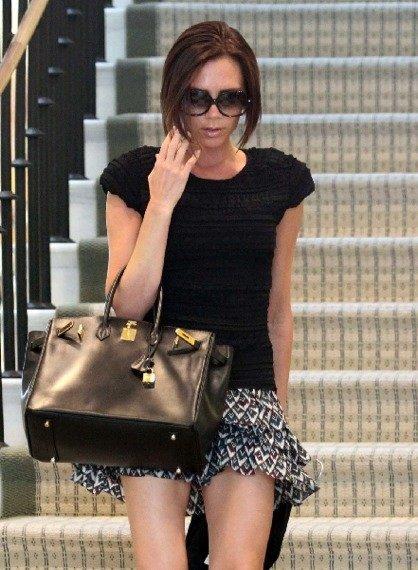 Victoria Beckham, de cuernos nada monada