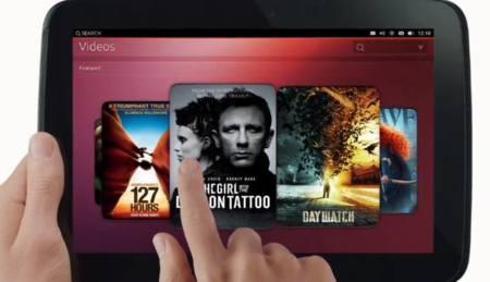 Vídeos en Ubuntu on tablets