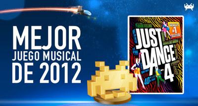 Mejor juego musical de 2012 según los lectores de VidaExtra: 'Just Dance 4'
