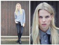 Moda en la calle: la camisa se lleva por fuera
