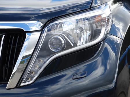 Prueba Toyota Land Cruiser Detalles