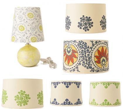 Lámparas de diseño étnico