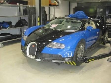 Subastan un Bugatti Veyron por unos 200.000 euros (más algún arreglillo extra)