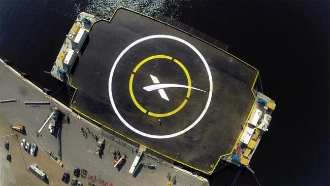 Plataforma Spacex