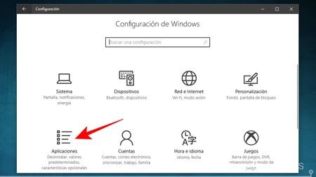 Configuracion De Aplicaciones Windows 10