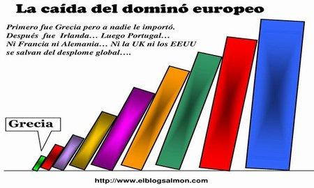 Quita del 70% a la deuda griega hará caer la primera ficha del dominó europeo