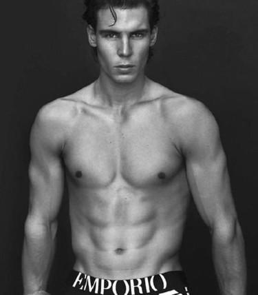 Rafa Nadal para Armani Underwear: ¿hasta qué punto es admisible el photoshop en una campaña?