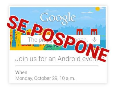 "Google pospone el evento ""The playground is open"" debido al huracán Sandy"