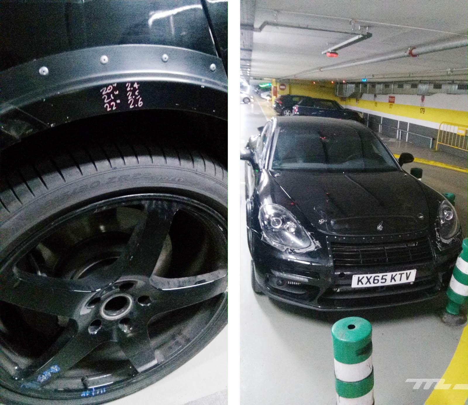 Foto de Porsche Cayenne Coupé Prototipo (8/9)