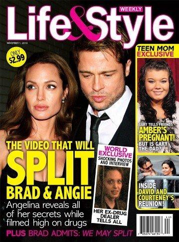 ¡El escándalo más escandaloso de Angelina Jolie con las drogas duras!