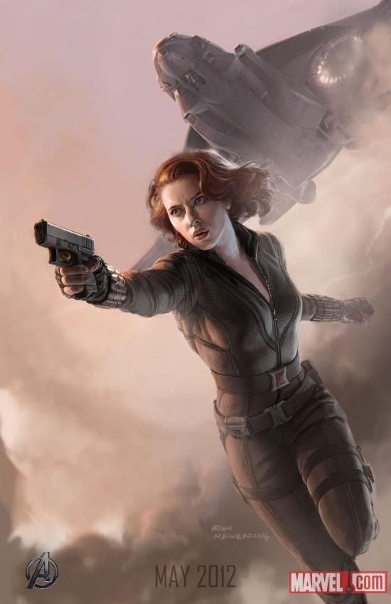Foto de 'Los Vengadores' ('The Avengers'), teaser póster y dibujos oficiales de los protagonistas (5/9)