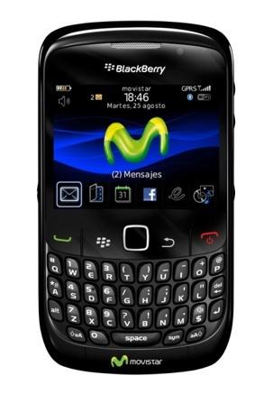 BlackBerry Curve 8520 Movistar