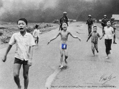 Facebook censura por igual pornografía y fotoperiodismo, y eso es un problema para todos