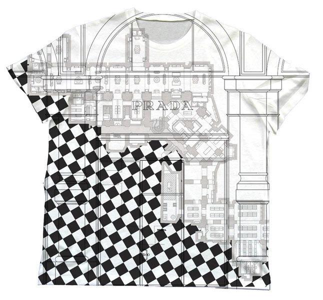 Foto de Camisetas arquitectónicas de Prada (7/8)