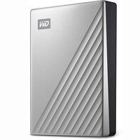 Precio mínimo en Amazon para el WD My Passport Ultra, un disco duro con acabado en metal, 5 TB de capacidad y puerto USB-C por sólo 108,95 euros