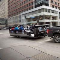 Ford te lleva al Super Bowl LII ¡en un trineo!