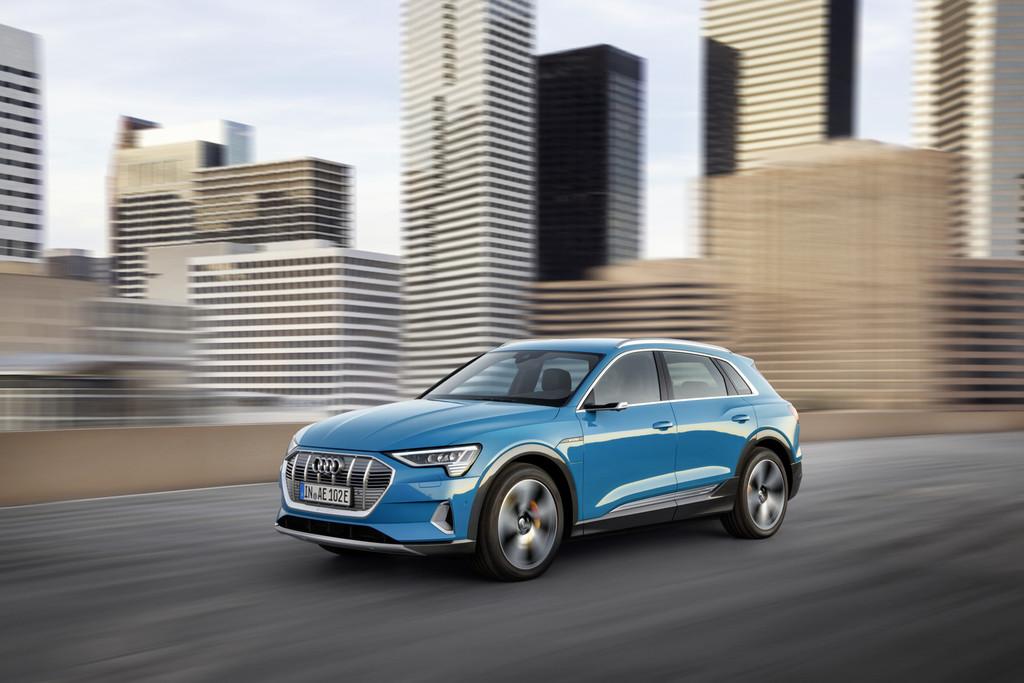 El Audi e-tron contra sus rivales: Mercedes-Benz EQC, Jaguar I-PACE, Tesla Model X y BMW iX3