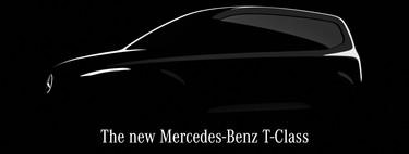 El Mercedes-Benz Clase T será un modelo inédito en la marca, y ya se insinúa en este teaser