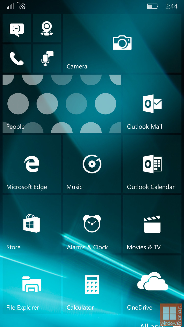 Foto de Build 10162 de Windows 10 Mobile (1/8)