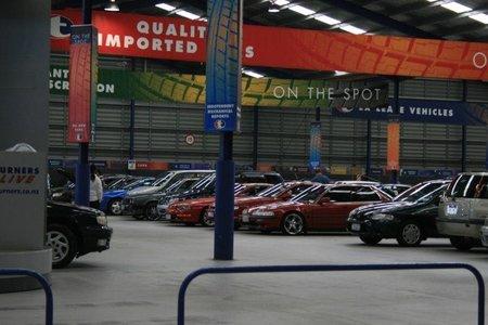 Subasta para deshacerse del stock de coches en Cantalejo