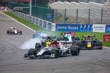 Giovinazzi F1 Spa 2019