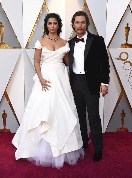 Oscars 2018 Camila Alves Left And Matthew Mcconaughey