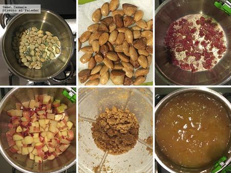 Sopa De Papas Almendras Y Jamon 2