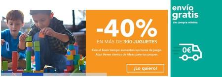 ¡Combo de ahorro en Toys ' r us! envío gratis y descuentos del 40% en cientos de juguetes durante hoy