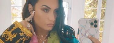 Las mariposas no solo inspiran a Demi Lovato en su nueva canción, también invaden su manicura. 5 diseños que podrían inspirarte