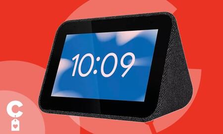 Despertador inteligente a precio de chollo: Lenovo Smart Clock por sólo 24,99 euros en las Lenovo Hours de MediaMarkt