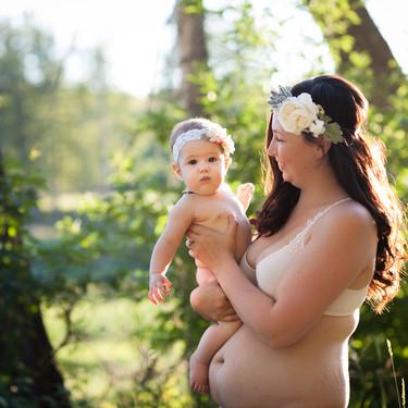 La belleza de las madres: 33 preciosas fotos que elogian los cuerpos del postparto y la maternidad