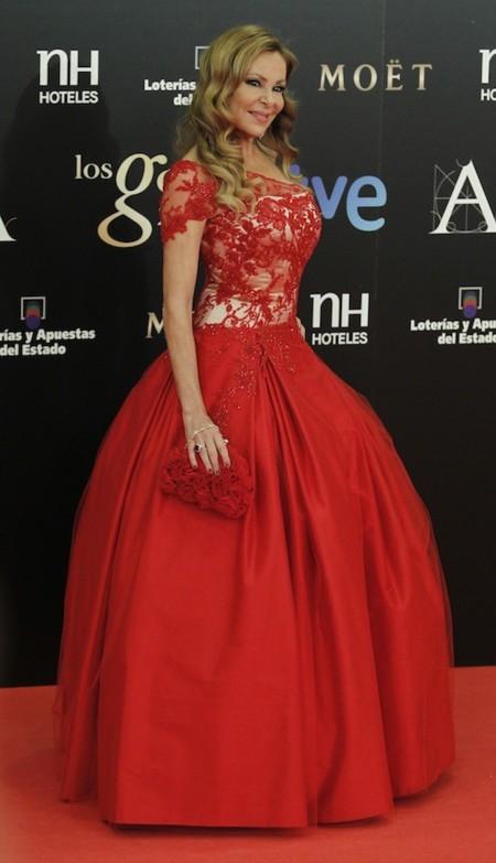 Ana Obregon Gala Goya 2013