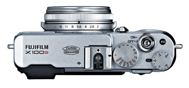 Fujifilm X100S desde arriba