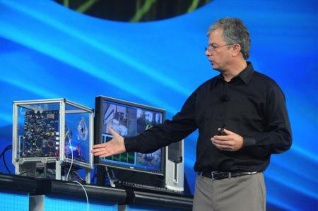 Intel IDF 2009 keynote
