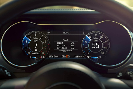 Ford Mustang Gt 2018 cuadro de instrumentos