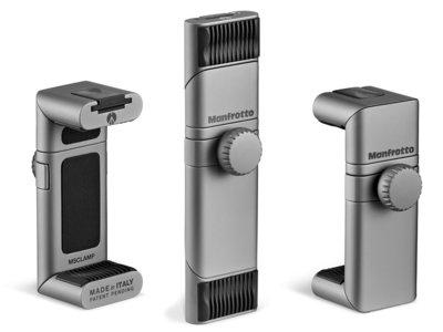 Manfrotto TwistGrip, una pinza universal de aluminio de alta calidad para tu smartphone