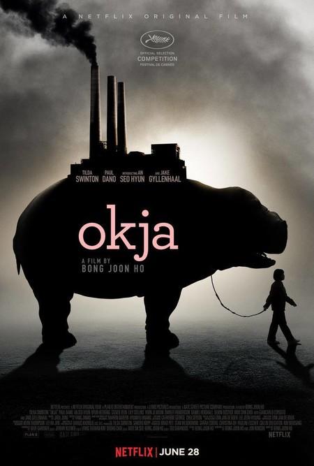 Los pósters de 'Okja'