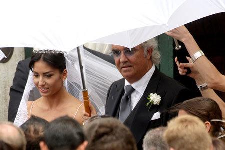 Flavio Briatore ya es un hombre casado